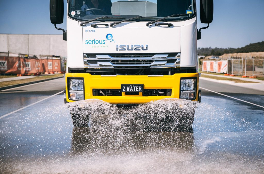 Potable Water Truck Hire